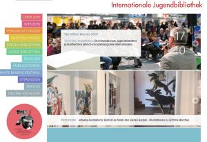 Internationale Jugendbibliothek Webseite Screenshot